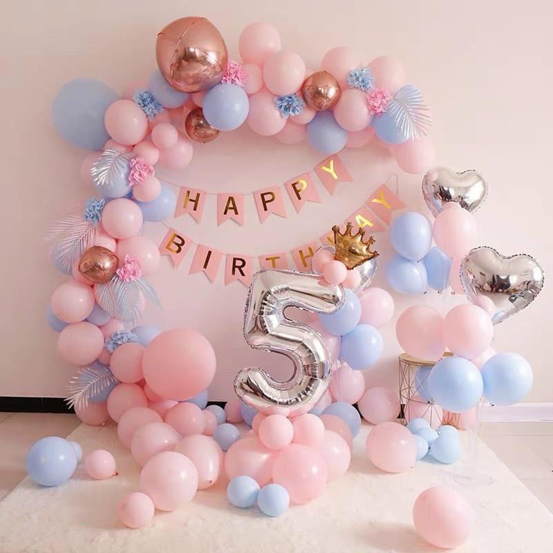 Hướng dẫn bơm bóng Happy Birthday